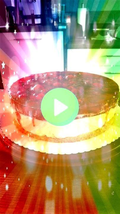 Vanillecreme  Torte Himbeer  Vanillecreme  Torte  Erdbeerkuchen mit Schmand  Vanillecreme 13 postsweets Strawberry cheesecake Comment below Rate 110 tag a fVeg  Erdbeercr...