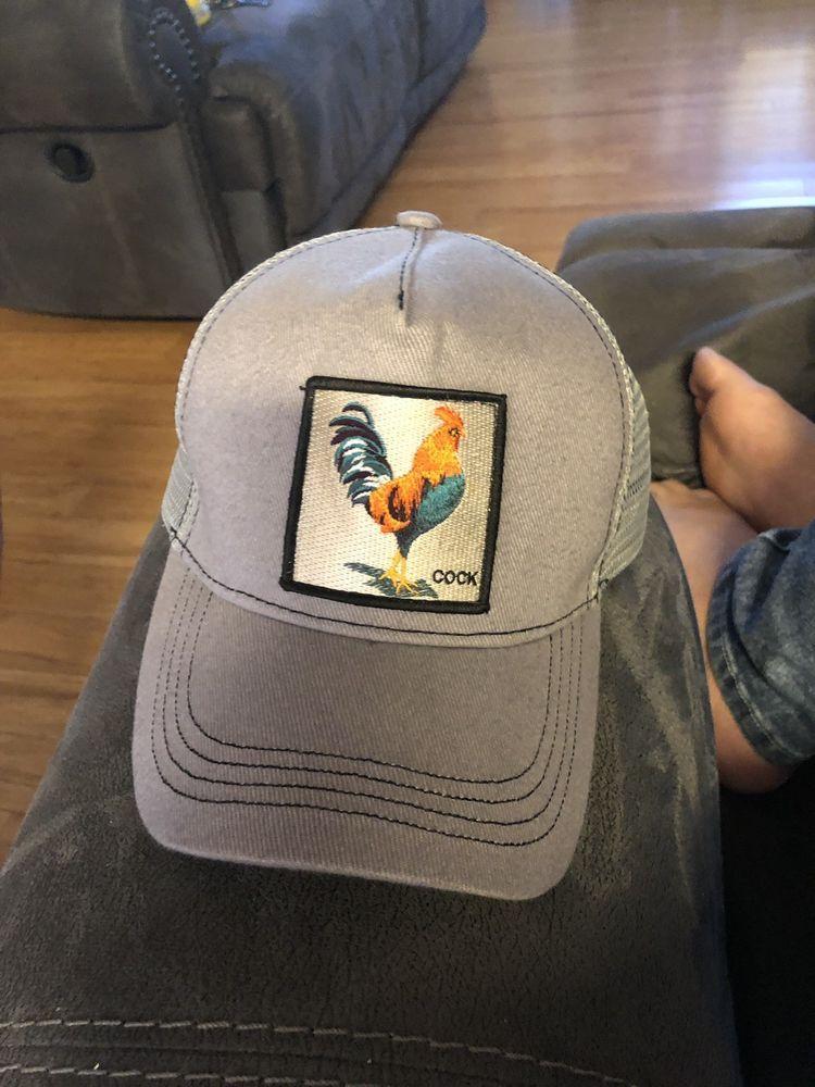 e725d55b97f12 Goorin Bros Animal Farm Snapback Trucker Hat Cap Rooster Checkin Traps   fashion  clothing