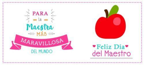 15 De Mayo Dia Del Maestro Imagenes Tarjetas Y Frases Teacher Gifts Special Gifts Teachers Day