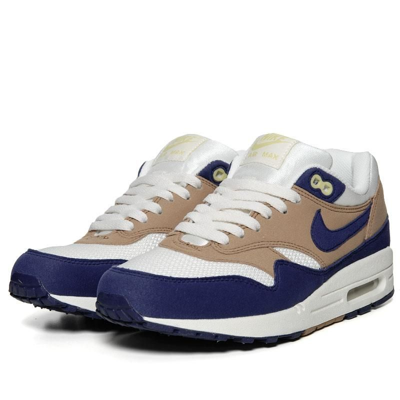 best loved 832c1 47749 Nike Air Max 1 (White, Shale   Blue) A good sneaker never hurt