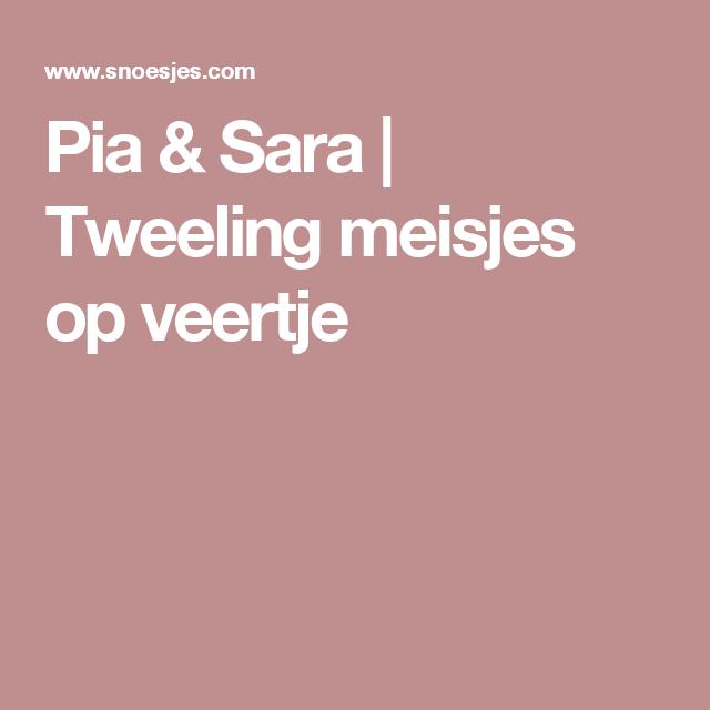 Pia & Sara | Tweeling meisjes op veertje