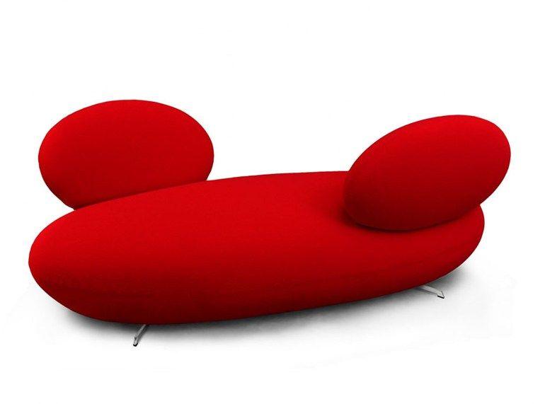SUPERSASSI Panca in tessuto by Rossi di Albizzate design Matteo Thun ...