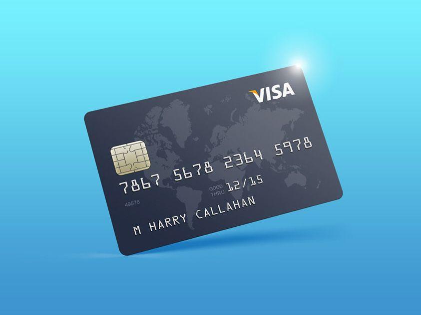 Free Credit Card Mockup Psd Free Psd Templates Credit Card Design Free Credit Card Business Cards Mockup Psd