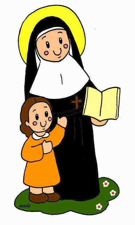 Santa Juana De Lestonnac Con Imagenes Ilustraciones Ninos De