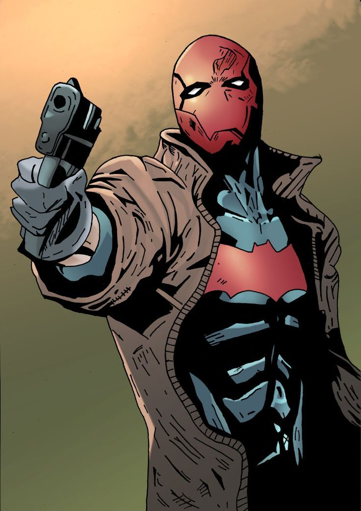 Red Hood art and images | DC's Red Hood | Pinterest | Red ...