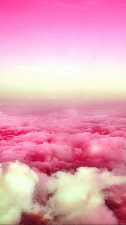 Gradient Clouds Pink