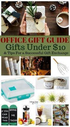 Office Gift Guide – Gifts $10 and Under   Office christmas ...