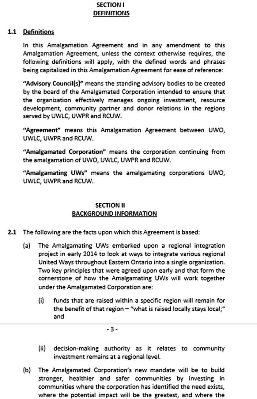 Amalgamation Agreement Template Agreement Business Template How To Apply S corp operating agreement template