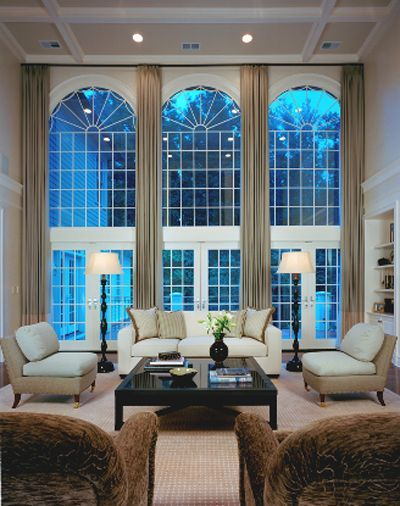The 2019 A List 100 Of Elle Decor S Favorite Interior Designers Tall Window Treatments Curtains For Arched Windows Floor To Ceiling Windows