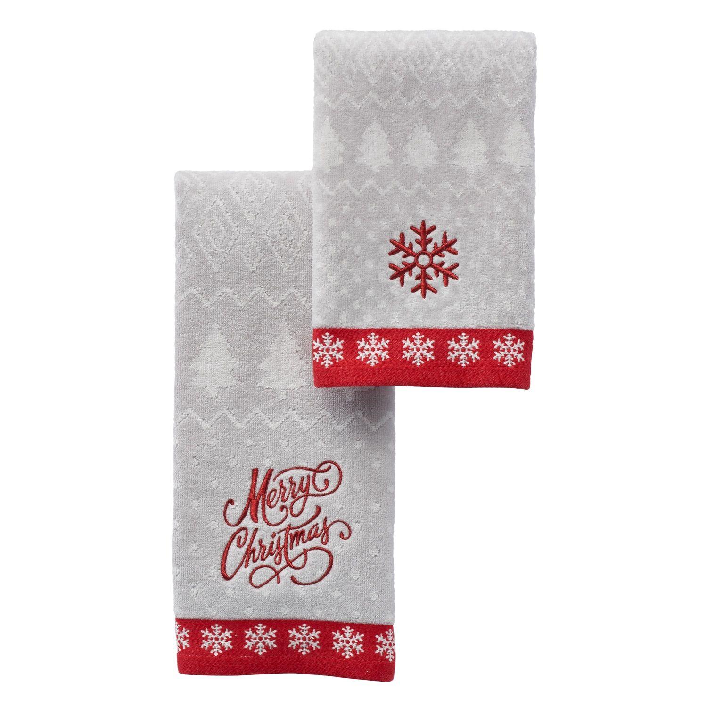 St Nicholas Square Fairisle Bath Towel Collection Towel