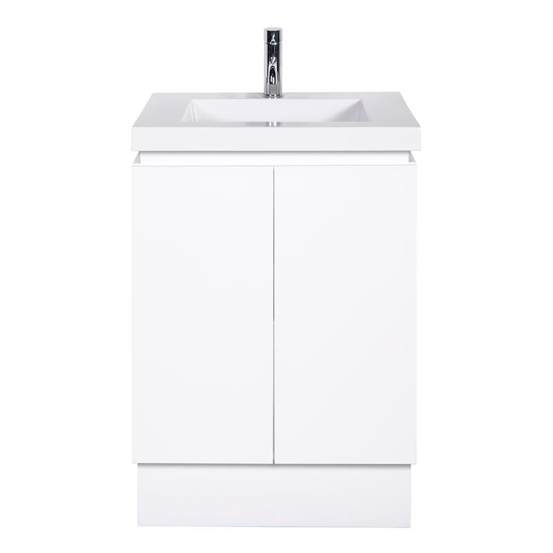 Cibo Design 600mm Slimline Function Vanity Bunnings Warehouse Vanity Units Bathroom Vanity Bathroom Vanity Units