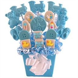 Baby Shower Boy Centerpieces Candy Table Decorations