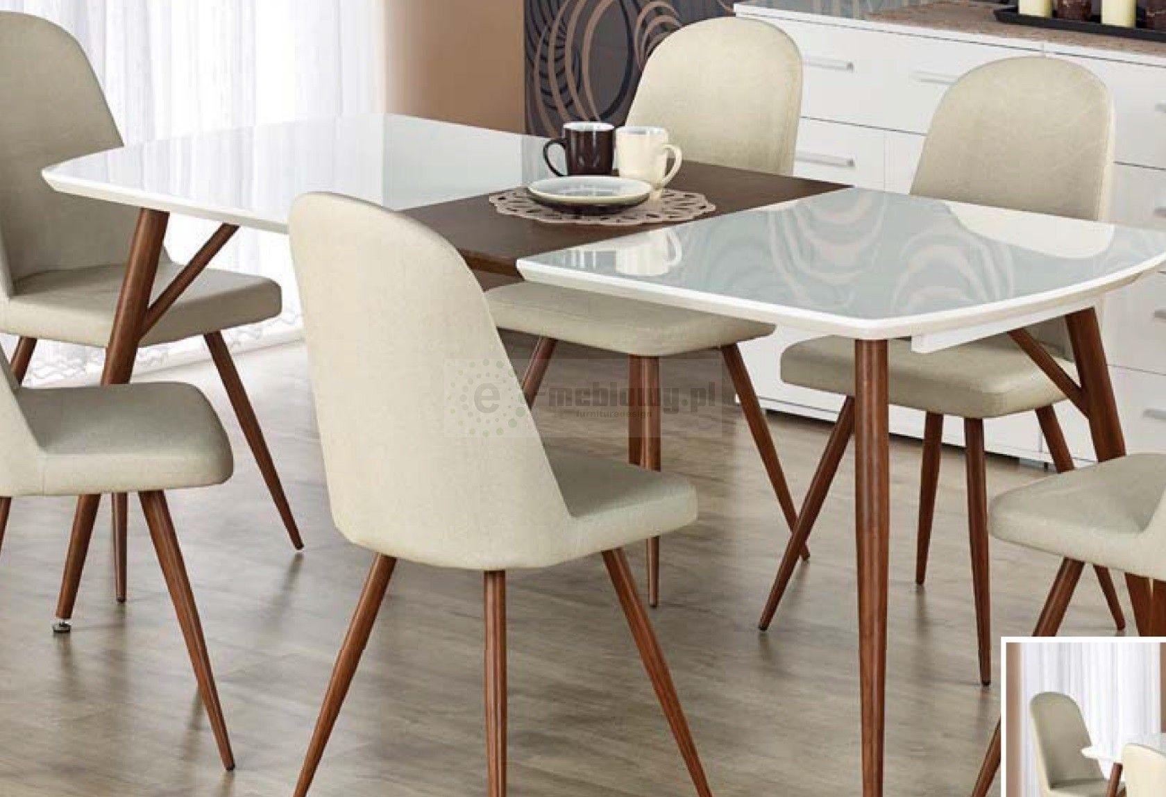 Stół Rozkładany Dark Aran Giełdowa Domek Dla Lalek