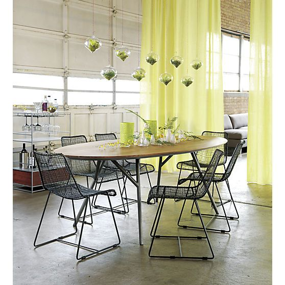 Awesome Reed Zinc Chair In Dining Chairs, Barstools Amazing Design