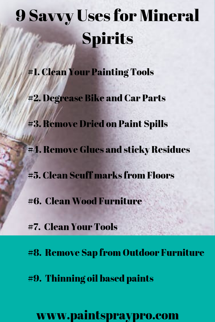 Mineral Spirit Uses 9 Smart Ways To Use Mineral Spirits In Your Home Mineral Spirits Cleaning Wood Cleaning Wood Furniture