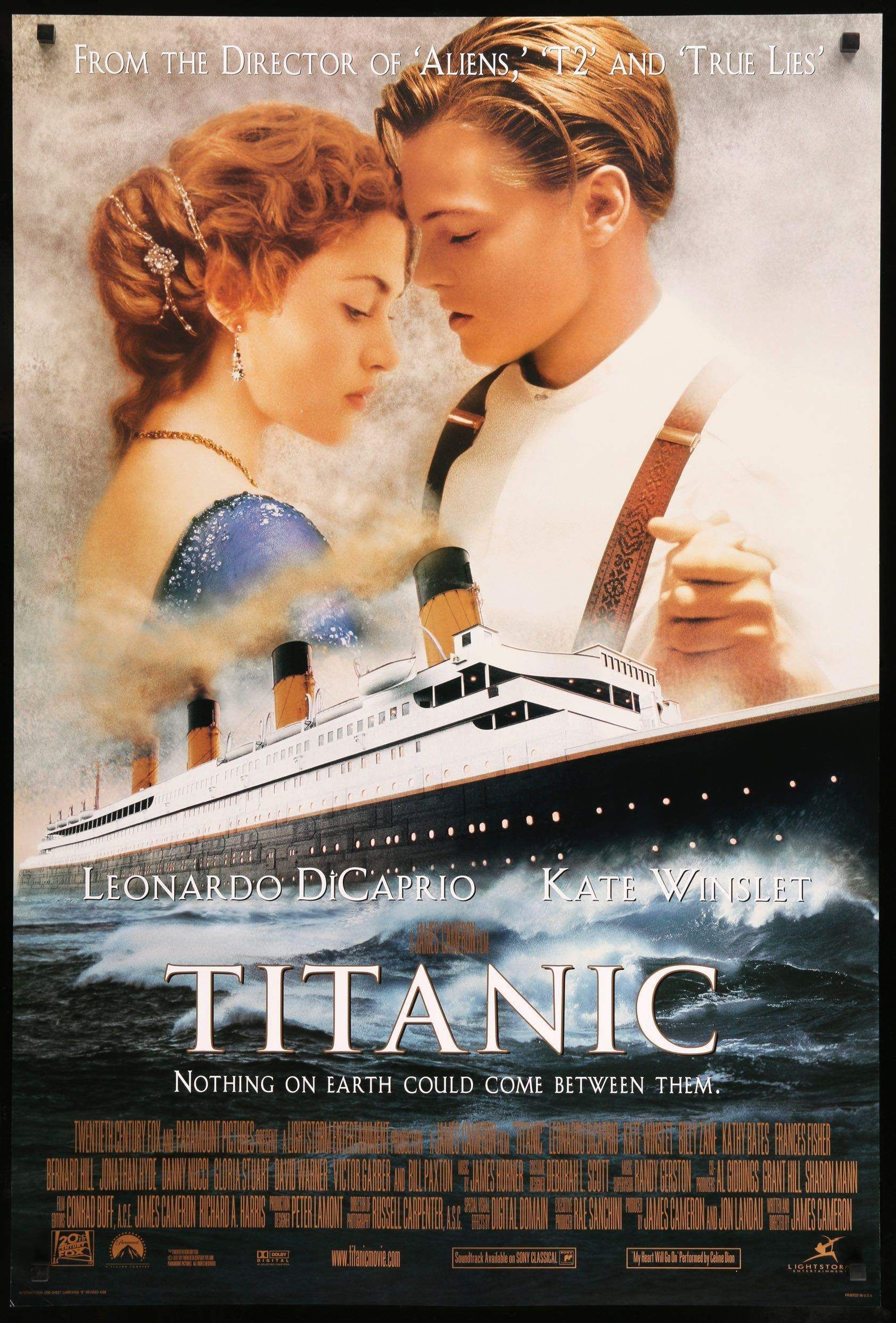 Image result for locandina USA del film titanic