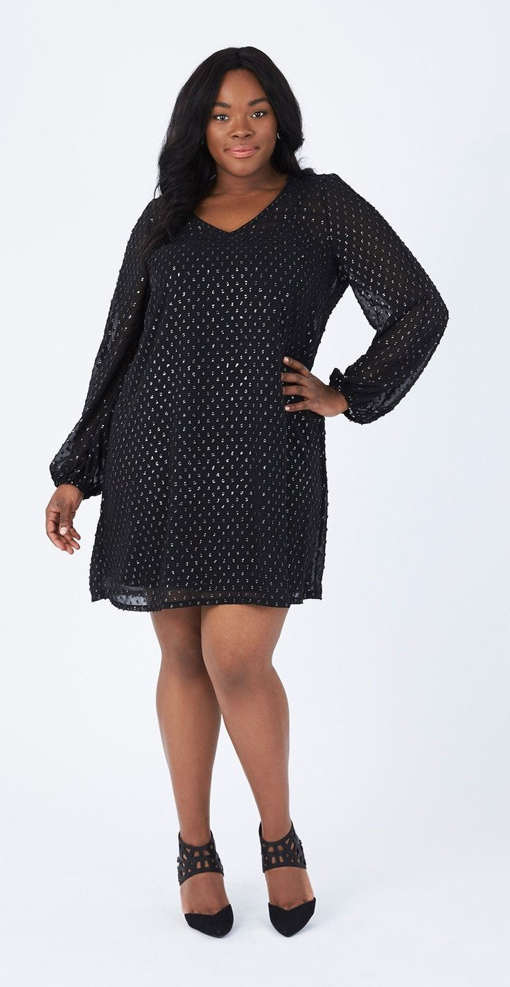 Plus Size LBD Perfection | Plus Size Fashion | Plus size, Plus size ...