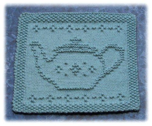 Tea Pot Dishcloth - May | yarn | Pinterest | Tea pots, Teas and ...