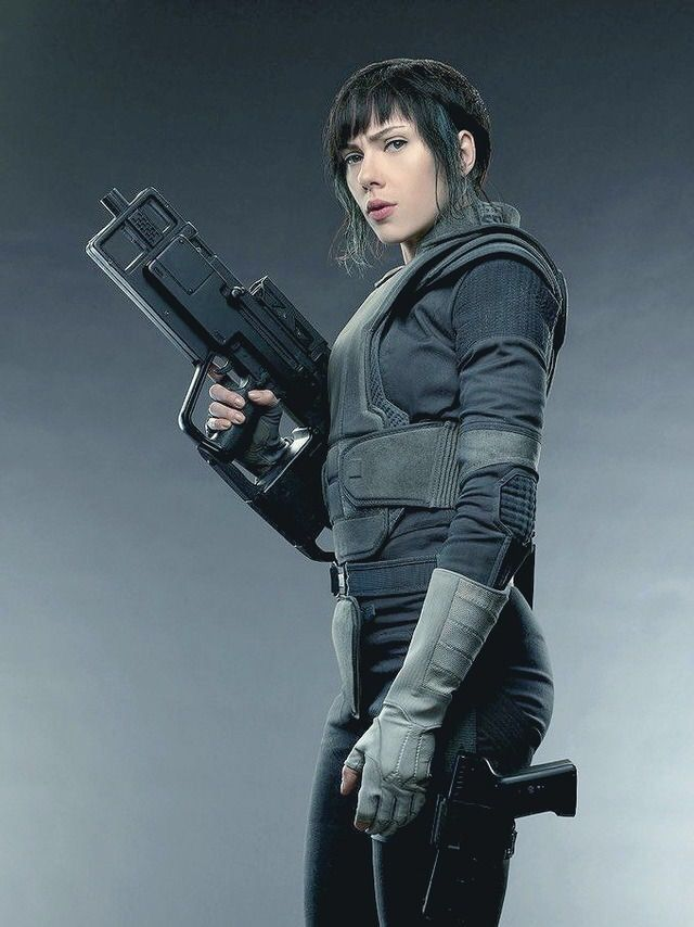 New Gits Promo Pic Ghost In The Shell Scarlett Johansson Ghost Ghost In The Shell Scarlett Johansson