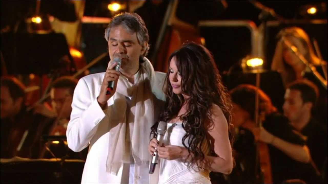 Andrea Bocelli Feat Sarah Brightman Canto Della Terra Sarah