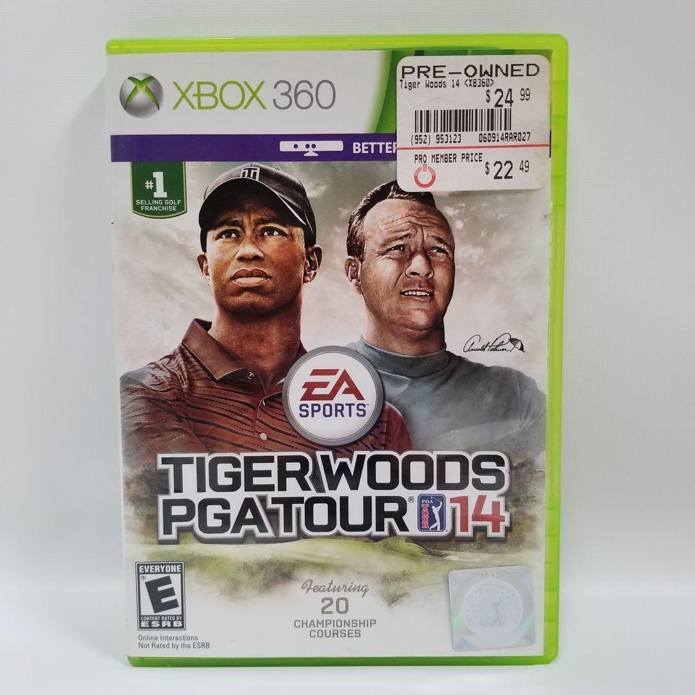 Tiger Woods PGA Tour 14 Microsoft XBox 360 Golf Video Game