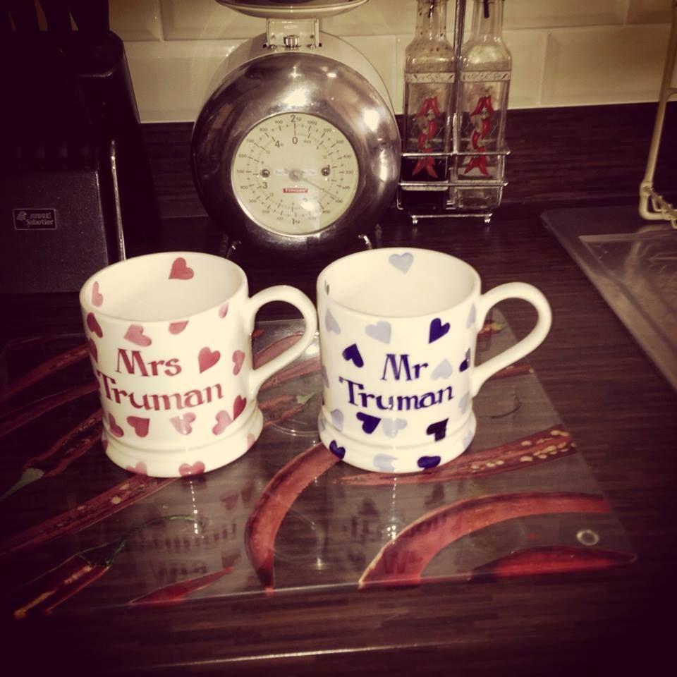 Mr Mrs Personalised Mugs From Emma Bridgewater The
