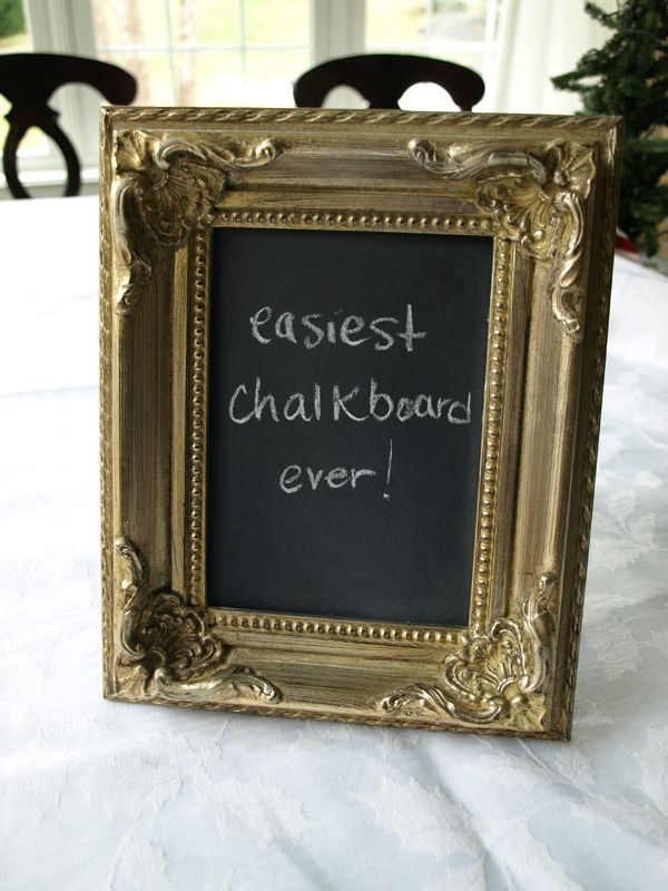 Easiest Chalkboard Ever! | Kids | Pinterest