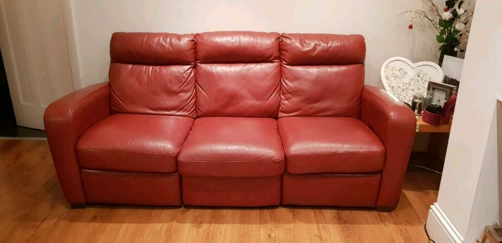 3 Seater Leather Sofa In Bolton Manchester Gumtree 3 Seater Leather Sofa Sofa Leather Sofa