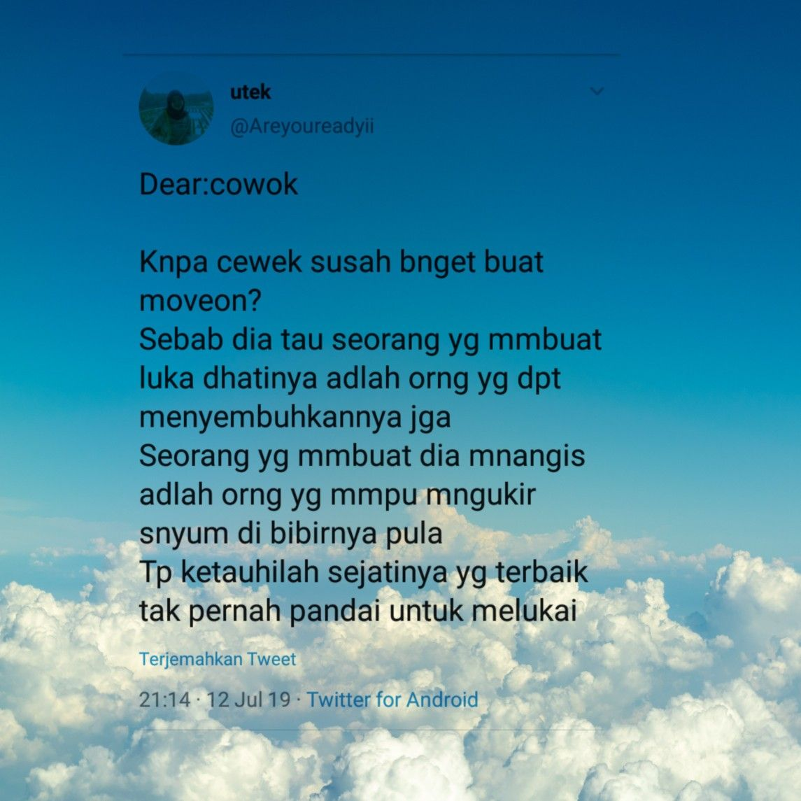 Dramatwitter Pinterstwitter Quotestwitter Quotes Galau Sedih