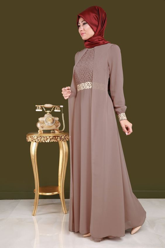 Model Baju Gamis Sifon Wanita Model Pakaian Hijab Pakaian Wanita