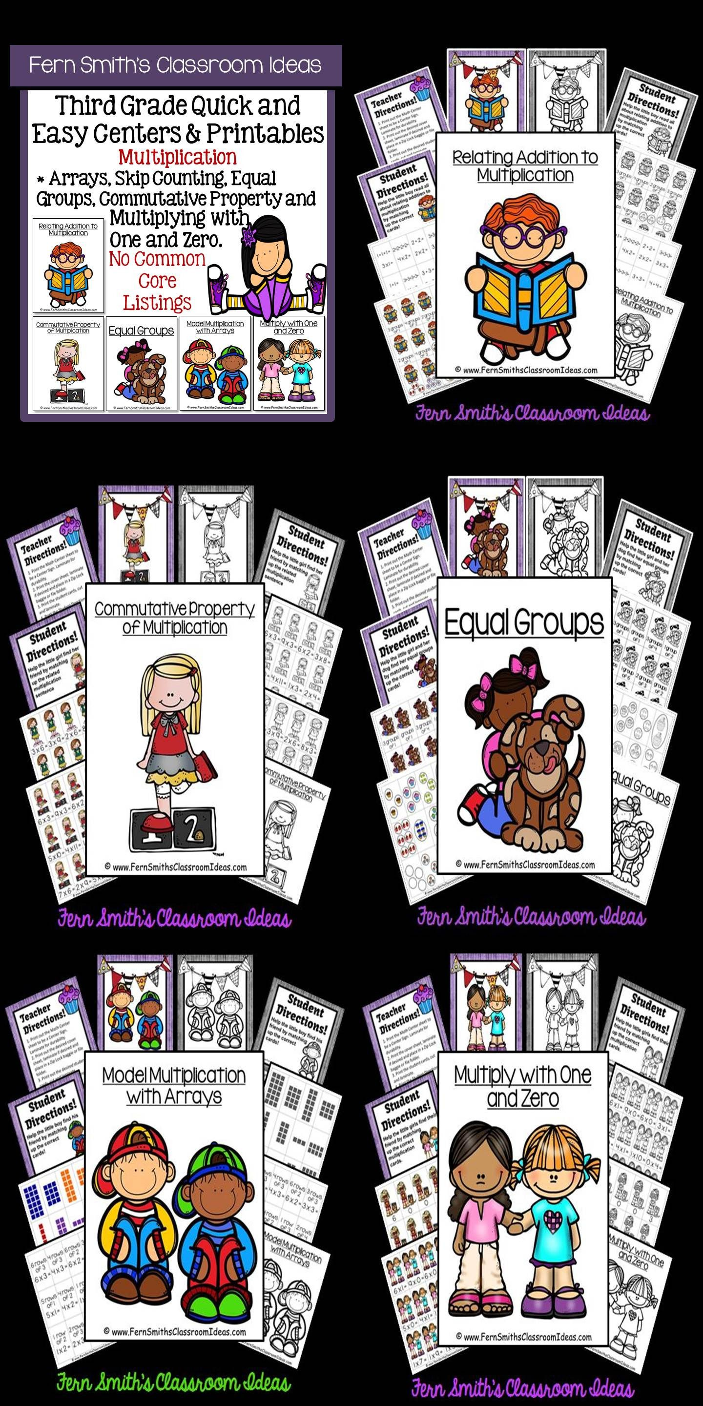 3rd Grade Go Math Chapter 3 Multiplication Facts And