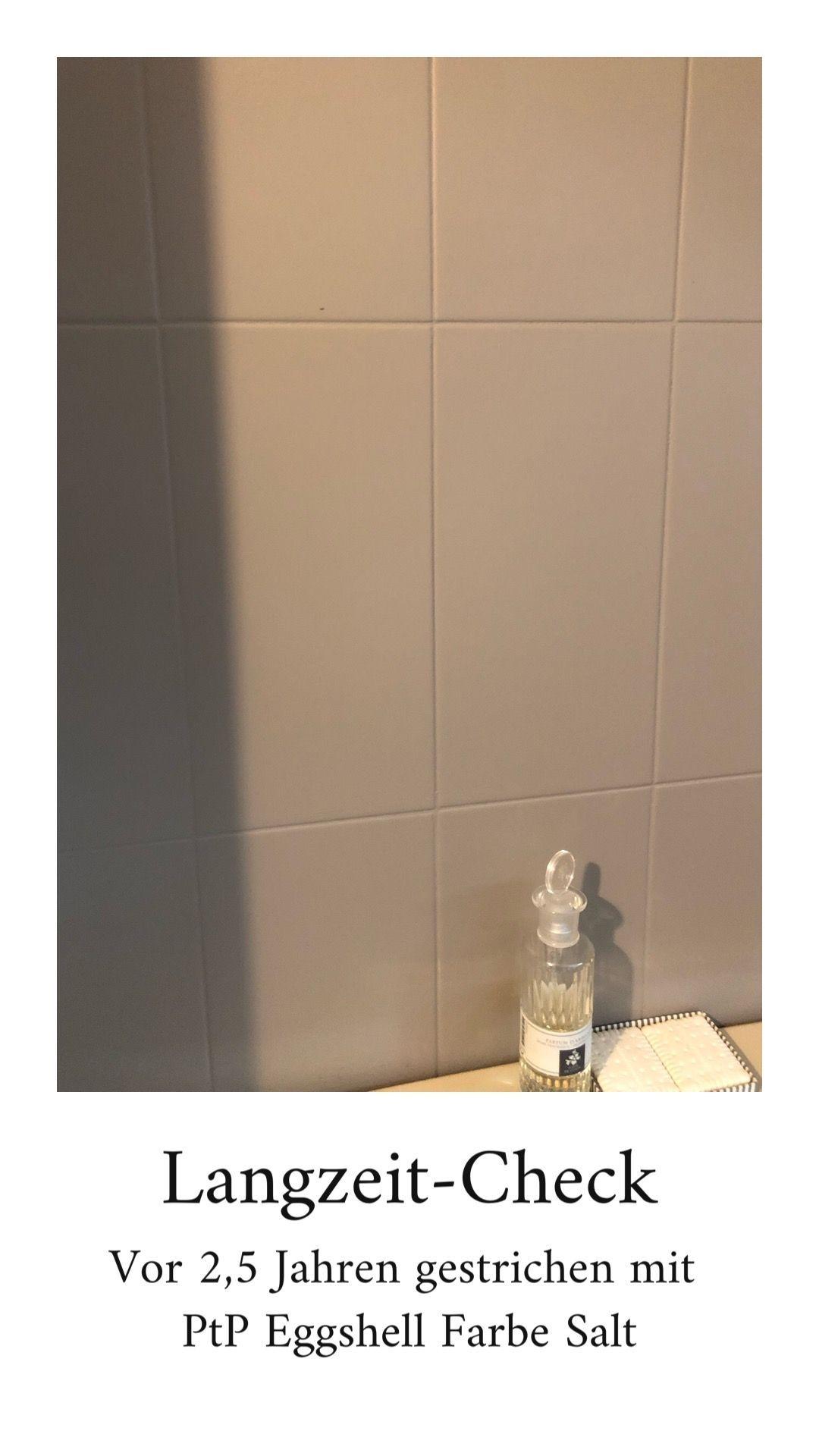 Die Badezimmerfliesen Streichen Badezimmerfliesen Die Streichen In 2020 Small Bathroom Renovations Tile Crafts Painting Tile