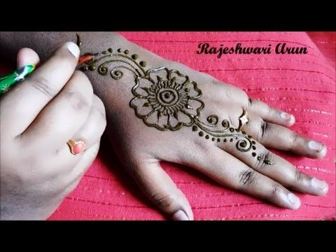 arabic mehndi designs simple , latest arabic henna for hands