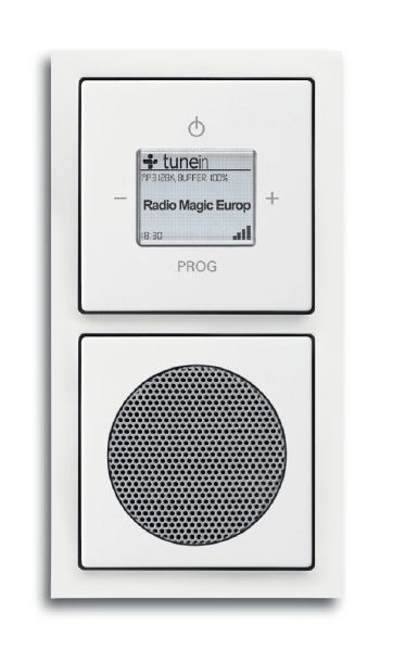 Busch-Jaeger 8240-84 Wlan-Radio Komplettset Audio / Multimedia ...