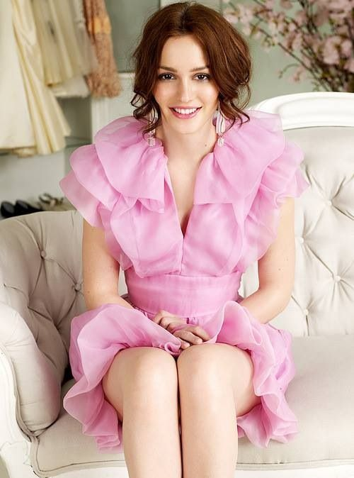 Gossip Girl Style-Blair Waldorf. love the dress! I want all of her ...