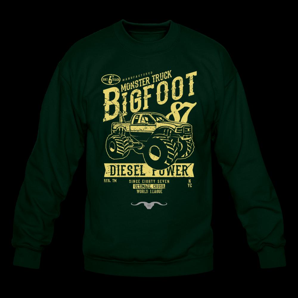 Monster Truck Sweatshirt - forest green / 2XL
