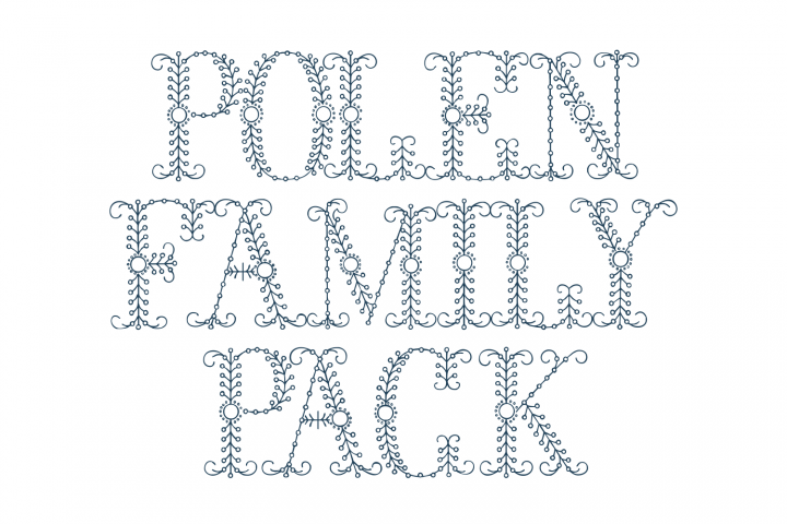 Download Polen Family Pack (plus a bonus font !) (69898) | Other ...