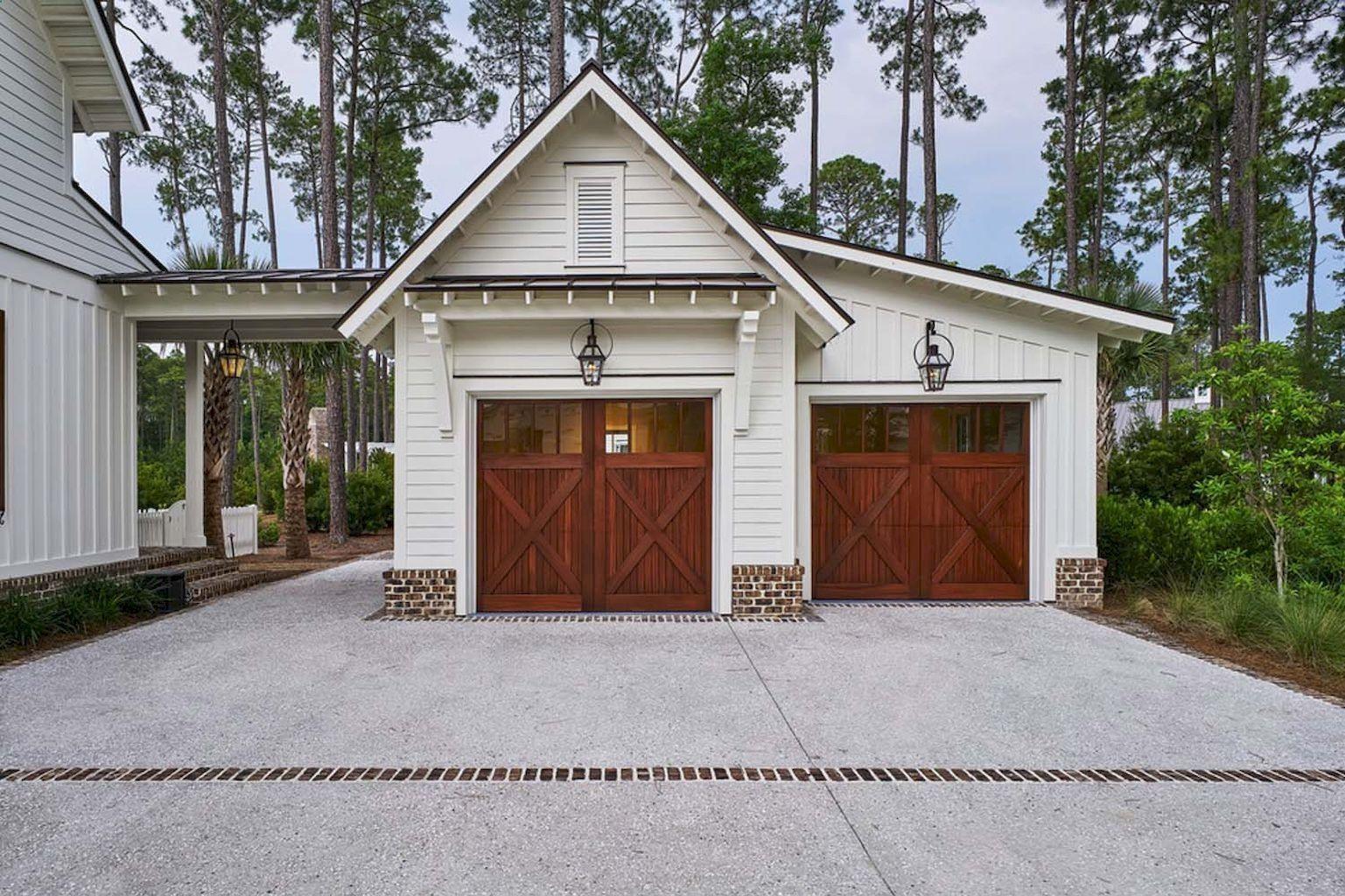 Cool Beautiful Modern Farmhouse Exterior Ideas decoremodel