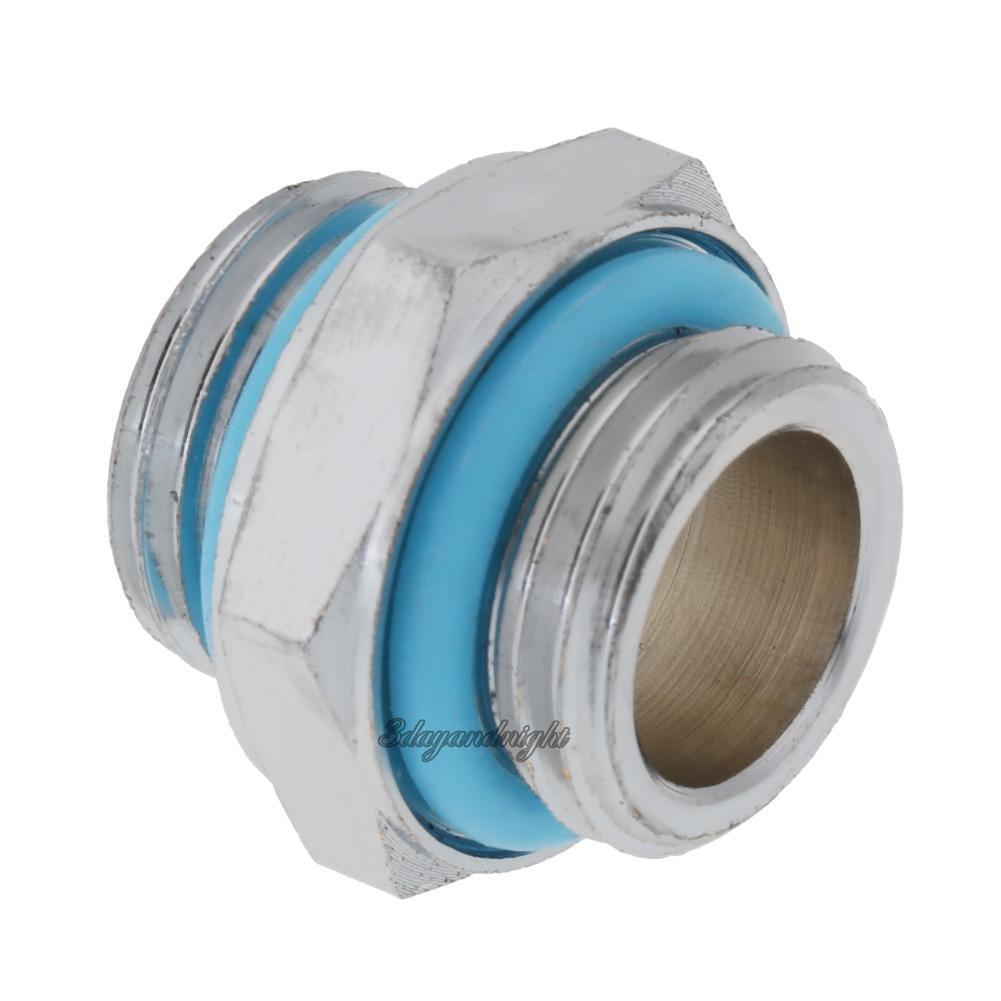0 99 G1 4 Dual External Thread Tube Connector For Pc Water