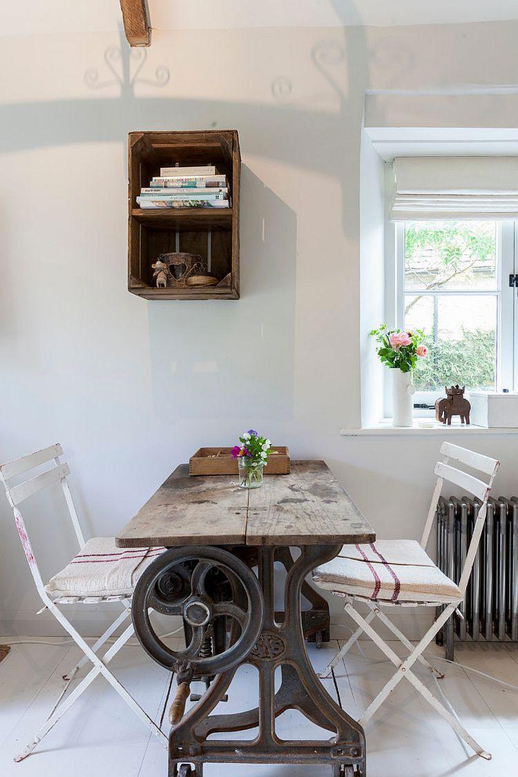 Idee per arredare una sala da pranzo shabby chic n.22 | new York ...