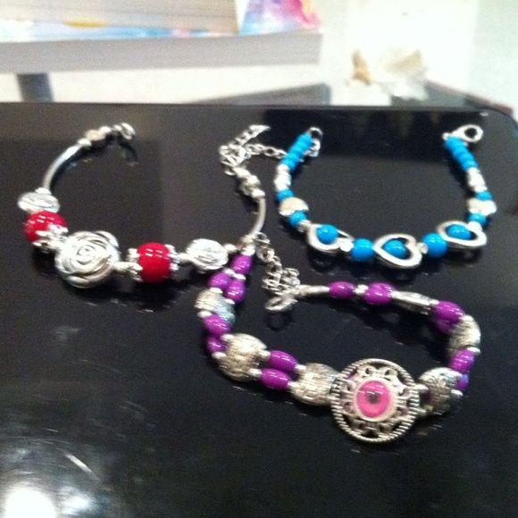Bracelets 3 beautiful bracelets. Bundle. All 3 included in price Jewelry