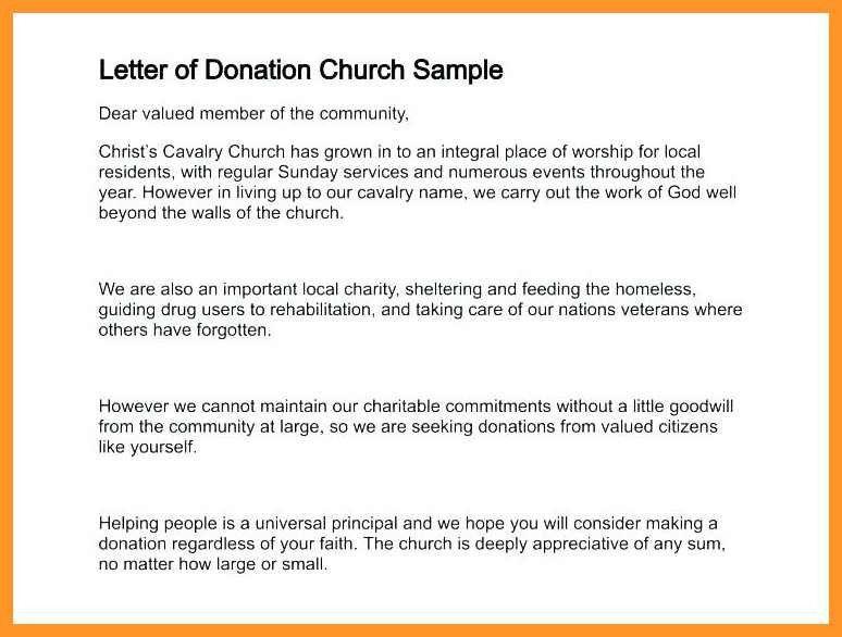 Charitable Donation Letter Template Inspiring 12 13 Charitable
