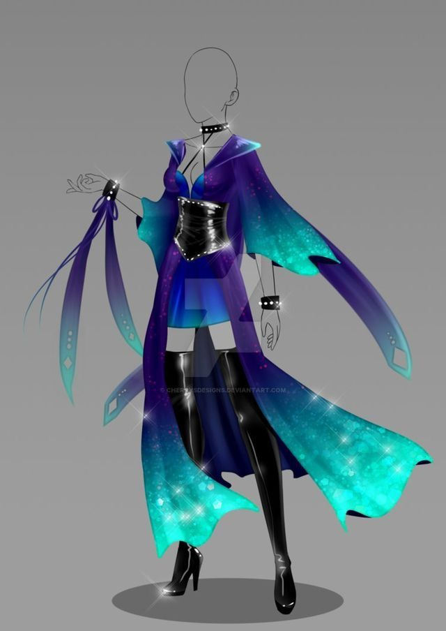 Love These Colors Anime Outfits Drawing Clothes Art Clothes