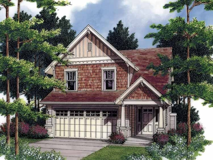 Eplans Craftsman House Plan Craftsman Elements 1466