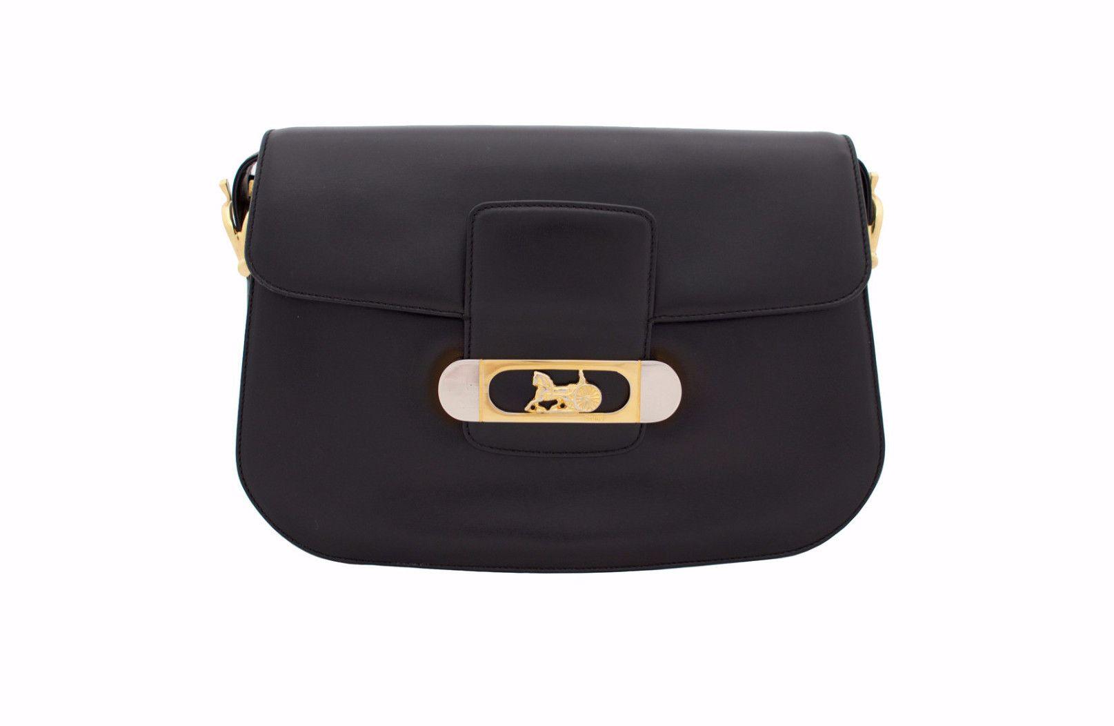 CELINE VINTAGE BAG - Box Black from Vintage District ee892ae30a364