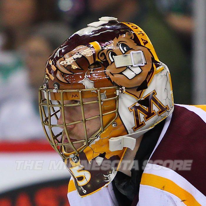 U Of Minnesota Gopher Kent Patterson Goalie Mask Minnesota Gophers Hockey Goalie