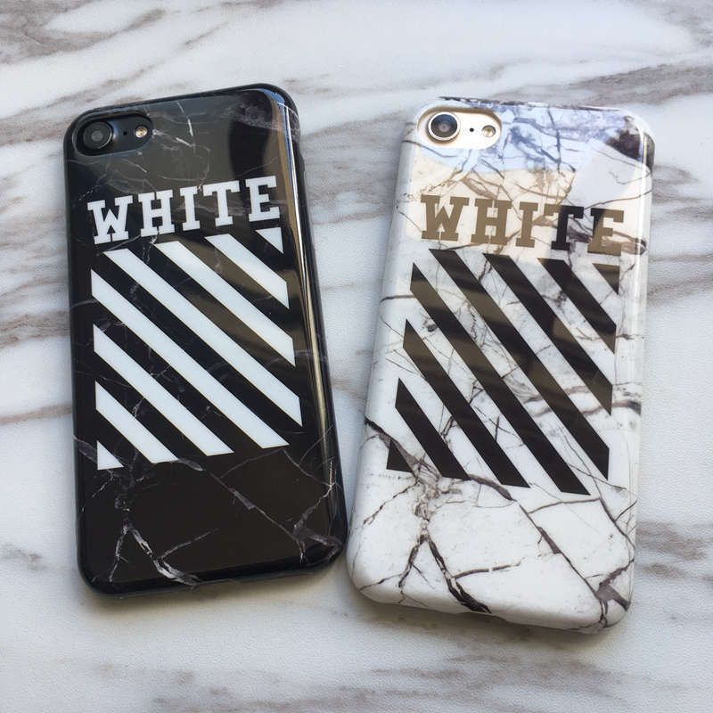 wholesale dealer 297db d293f Marble Off-White Off White Abloh Kanye West Case For Iphone 6S 6 ...