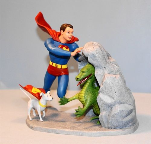 Moebius Models Superboy Model Kit  Re-issue of the Original 1966 Aurora Kit
