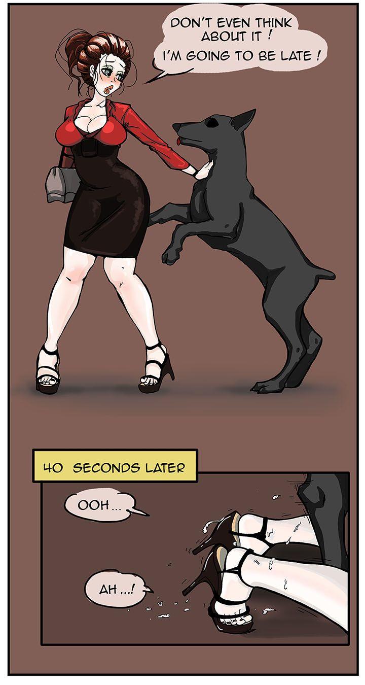 comic Beastiality cartoon