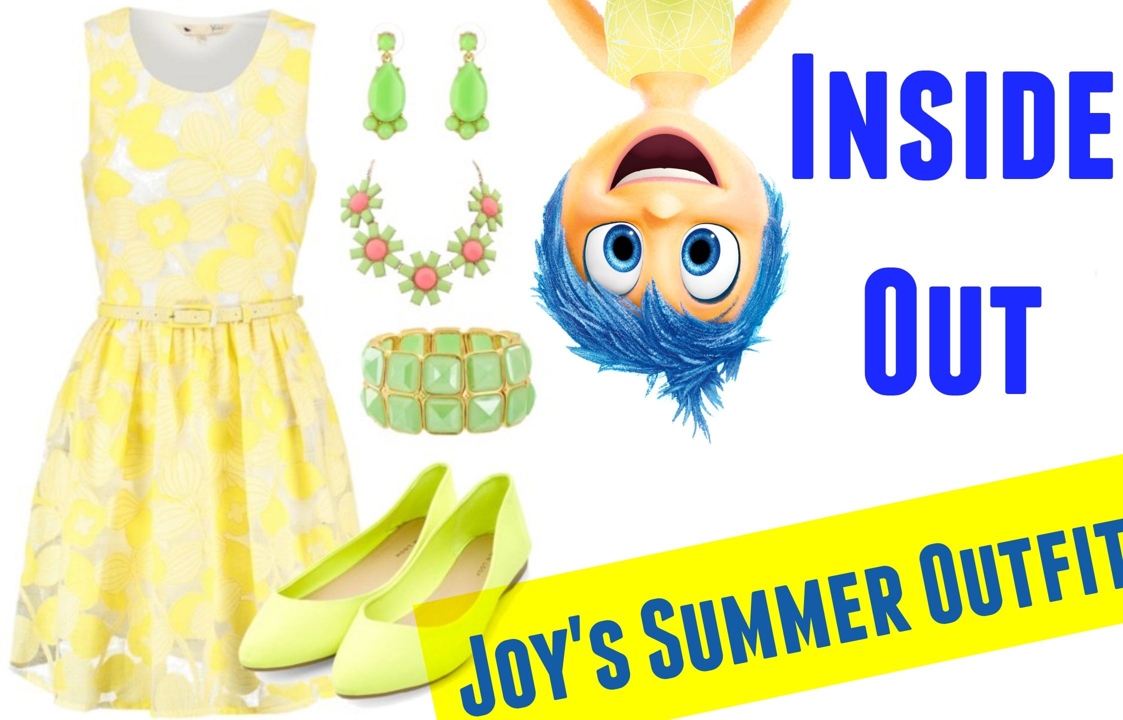 Inside Out's Joy has now her own Summer Outfit!